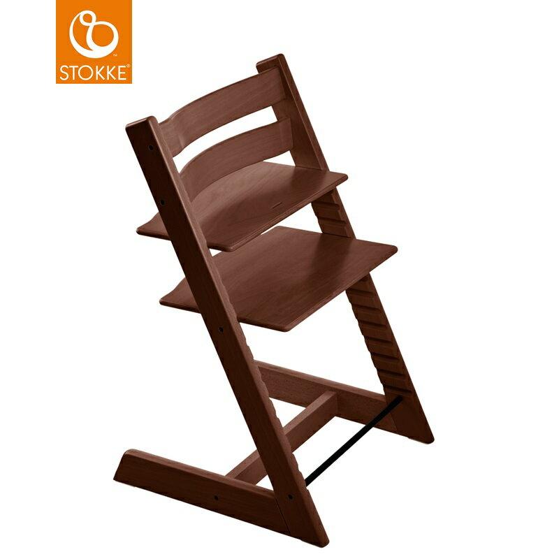 挪威【Stokke】Tripp Trapp 成長椅-胡桃木 0