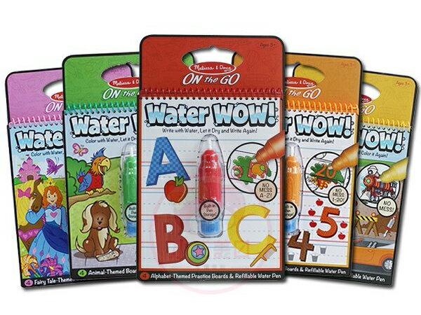《任意門親子寶庫》美國梅莉莎 Meliss & Doug 【TY284】Water Wow神奇水畫本/水畫筆/水畫板/