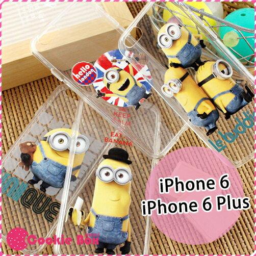 *餅乾盒子* 正版 minions 小小兵 小黃人 手機殼 軟殼 iPhone 6 6S Plus 環球影城 電影 保護殼 保護套