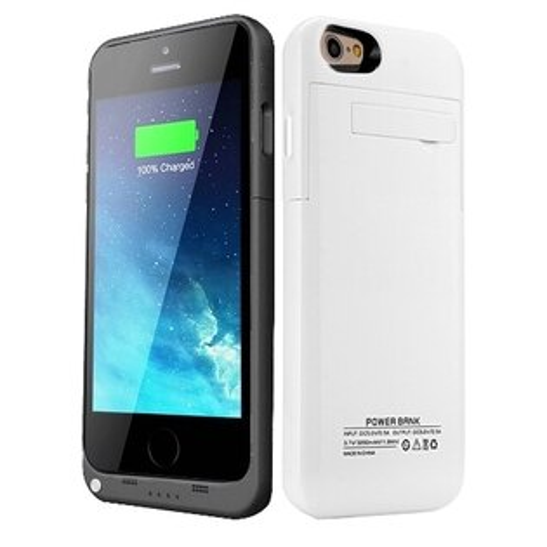 iPhone 6/6S (4.7吋)超薄背殼式電池/行動電源 (3200mA).