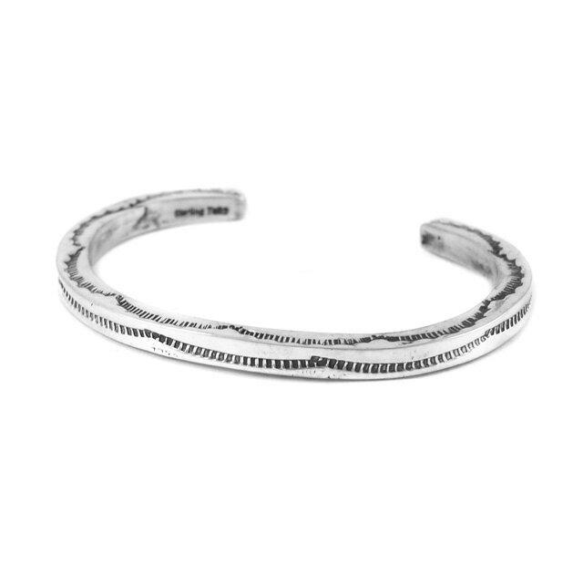 【海外訂購】【Indian Jewelry】印地安圖騰方形手鐲(花紋隨機出貨)(Navajo-026-R) 5
