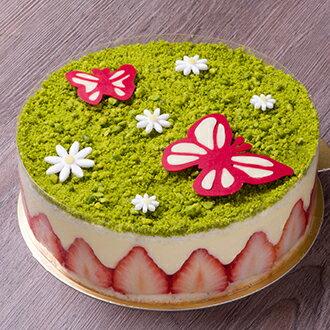 杜樂麗花園法式草莓蛋糕