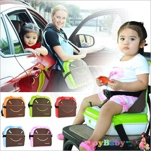 攜帶型塑料嬰兒餐椅 座椅 媽媽包 媽咪包 大容量寶寶玩具箱增高墊寶寶嬰兒安全座椅【JoyBaby】