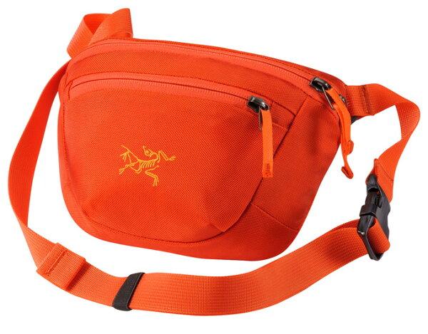 【鄉野情戶外專業】 ARCTERYX 始祖鳥  加拿大  MAKA 1 腰包/隨身包 旅行包 護照包 側背包-鳳凰橘/17171 【容量2L】
