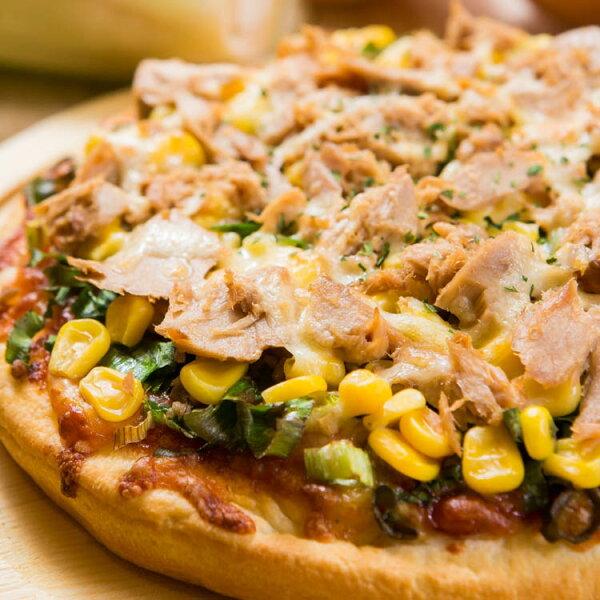 【法羅烤箱現作手工披薩】《鮮蔥鮪魚pizza》