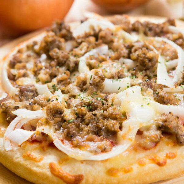 【法羅烤箱現作手工披薩】《羅勒烤豬pizza》