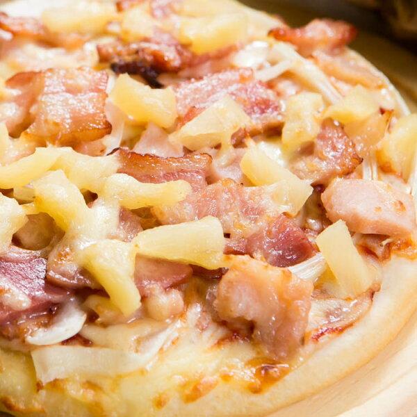 【法羅烤箱現作手工披薩】《燻雞培根pizza》