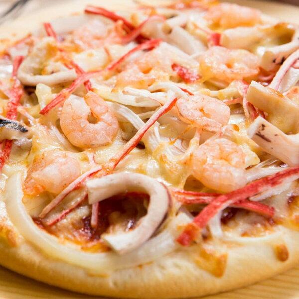 【法羅烤箱現作手工披薩】《海鮮總匯pizza》