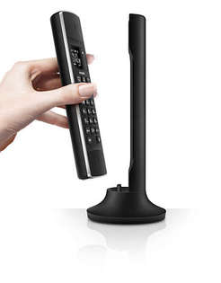 PHILIPS 飛利浦 M3301B黑 / 33011W白  / M3301 Linea設計多功能無線電話【葳豐數位商城】