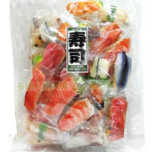 日本進口 壽司圖案包裝米果 仙貝(200g大包裝) [JP391] - 限時優惠好康折扣