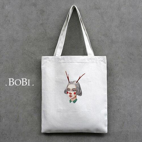 手提包 帆布袋 手提袋 環保購物袋【DEB098】 BOBI  08/18 0