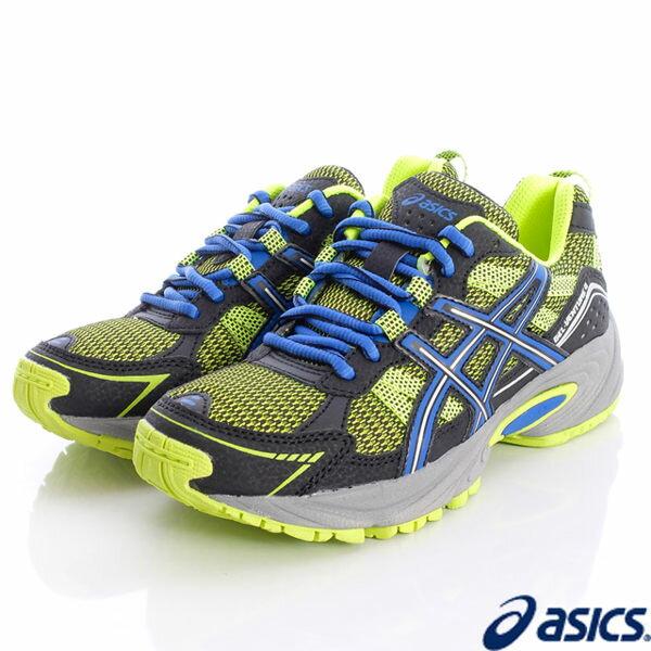 [陽光樂活] ASICS 亞瑟士 零碼出清 競速童鞋 透氣避震機能運動款 C404N-0742 24CM