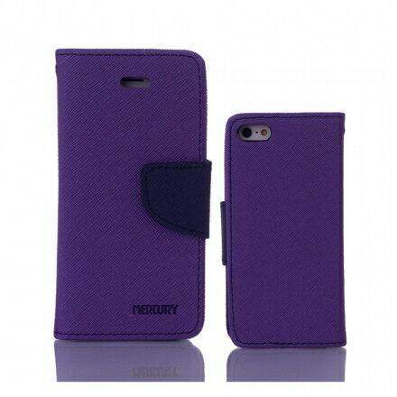 Mercury 二代 iPhone 6/6s 6+/6s+ 馬卡龍雙色手機皮套 紫粉黑多色可選 3