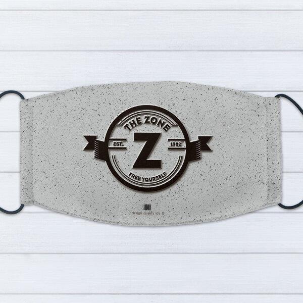 [ IHERMI ] 個性口罩 / 個性字母Z / 愛好蜜 MIT台灣製造好安心 環保染劑使用 極細緻印染技術 0