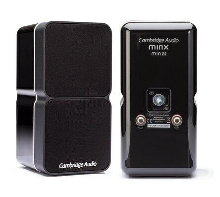 【minx 22 喇叭】 Cambridge Audio 英國劍橋音響 家庭劇院 CD BD AV 擴大機 數位串流 網路收音機