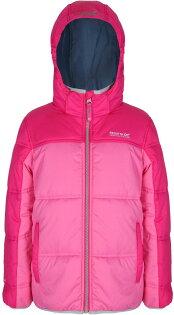 Regatta 兒童保暖外套/雪衣/化纖外套/GI巨人絨感保暖外套 連帽可拆 Giant 童款 RKN036 9BC 果醬粉