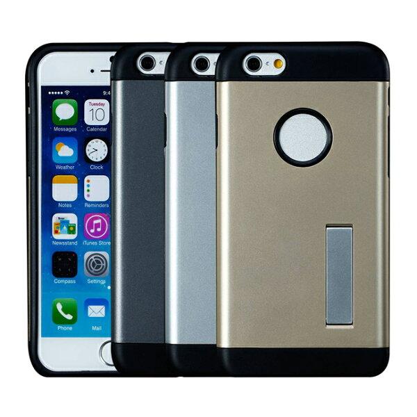 Ultimate- iPhone6 Plus 時尚輕甲雙件雙料可立手機殼 空壓技術防撞保護殼 保護套 非SGP