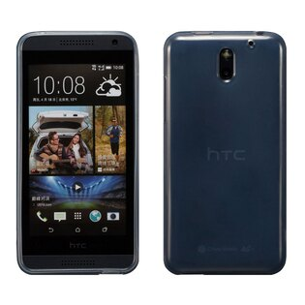 Ultimate- HTC Desire 610 清新全透軟質手機保護套 手機背蓋 手機保護殼 軟質 清水套 透明軟殼