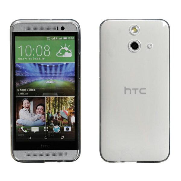 Ultimate- HTC One E8 清新全透軟質保護殼 手機保護套 清新全透軟質保護殼 軟質 清水套 透明殼