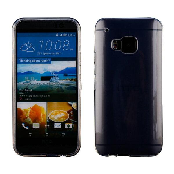 Ultimate- HTC ONE (M9) 清新全透軟質手機外殼防摔果凍後背蓋 保護套 軟殼 保護殼 手機殼