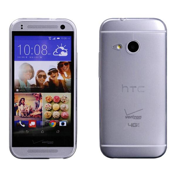 Ultimate- HTC One mini2 (M8mini) 0.65mm超薄點紋軟質手機保護套 手機背蓋 手機殼