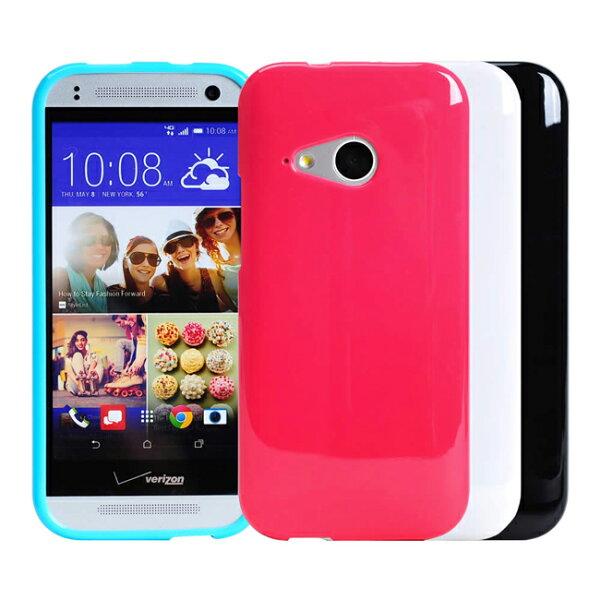 Ultimate- HTC ONE mini2 (M8 mini) ) 亮麗全彩軟質保護套 手機背蓋 手機殼 果凍清水套