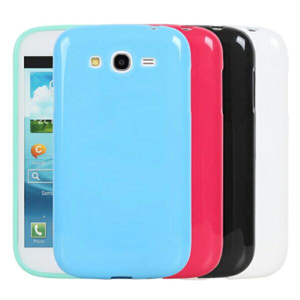 Ultimate- Samsung Grand Duos(i9082) 亮麗全彩軟質星手機防摔背蓋果凍套 保護殼 手機殼