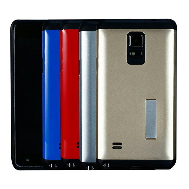 Ultimate~ 三星 Note4 輕甲雙件雙料可立手機殼 Samsung空壓技術防撞保
