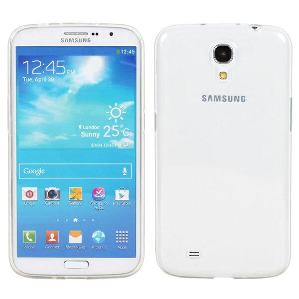Ultimate- Samsung Mega 6.3(i9200) 清新全透軟質三星手機果凍套防摔背蓋 保護殼 手機殼