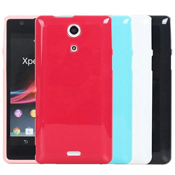 Ultimate- Sony Xperia ZR (M36h) 亮麗全彩軟質手機保護套 手機背蓋 手機殼 果凍保護套