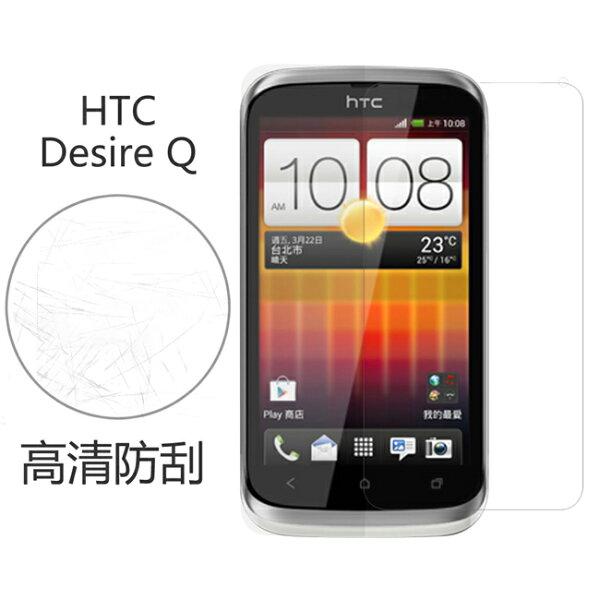 Ultimate- HTC Desire Q 高清防刮/霧面抗指紋 防刮保護貼 超薄螢幕膜 手機膜 保貼