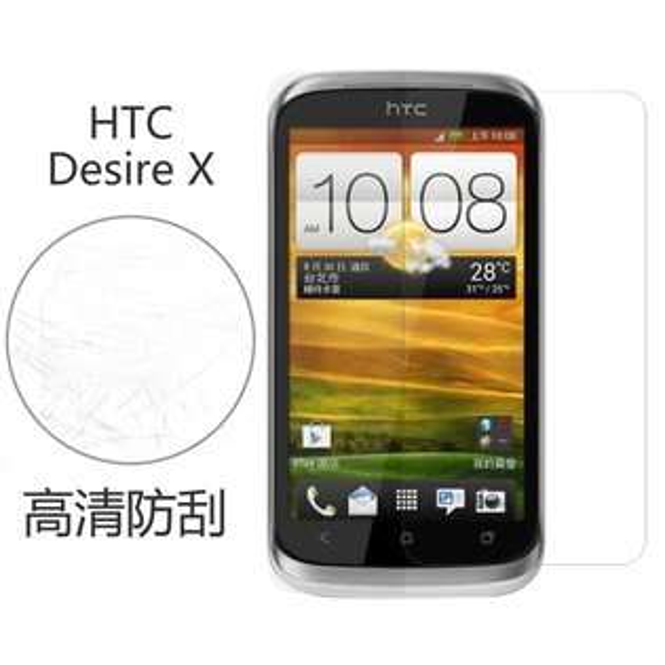 Ultimate- HTC Desire X 高清防刮/霧面抗指紋 手機螢幕超薄保護貼膜 手機膜