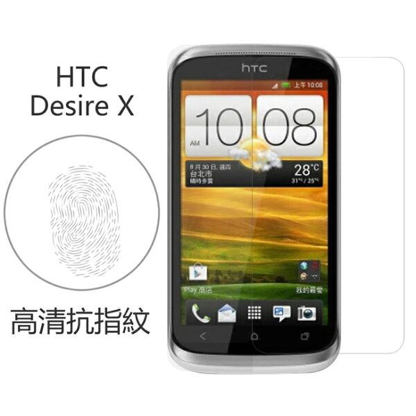 Ultimate- HTC Desire X 高清抗指紋防疏油汙灰塵手機螢幕超薄保護貼膜 手機膜