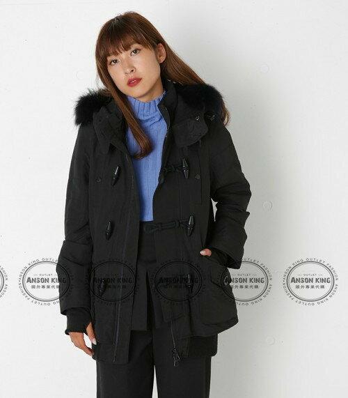 日本代購 正品 2016 SLY-N3B 牛角扣 秋冬新款 短版軍裝羽絨保暖連帽毛毛外套 四色可選 1