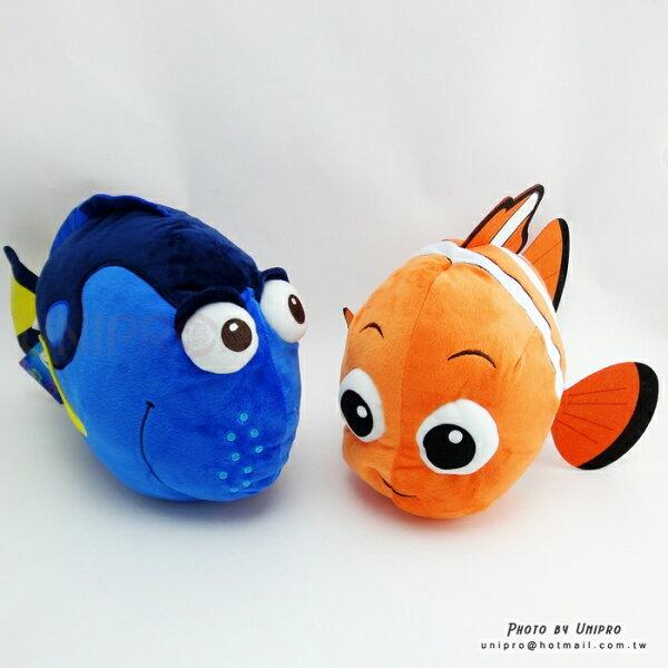 【UNIPRO】海底總動員 尼莫 Nemo 多莉 Dory 38公分 絨毛娃娃 玩偶 多莉去哪兒 迪士尼正版授權 小丑魚