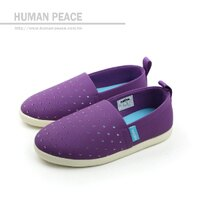 native 輕量懶人鞋、休閒防水鞋到native THE VENICE 威尼斯系列 洞洞鞋 紫 小童 no366