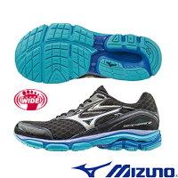 慢跑_路跑周邊商品推薦到J1GC164552(黑X銀)暢銷支撐型鞋款 WAVE INSPIRE 12 SW 男超寬楦慢跑鞋 A【美津濃MIZUNO】