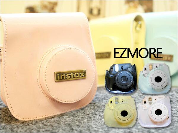 富士Mini8 mini 8拍立得豬頭包 機皮套  相機包 附背帶【B511330】