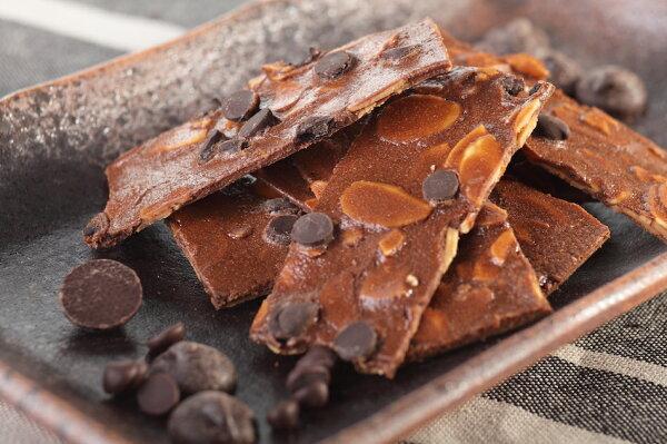 川布本舖    蕾諾瓦手工杏仁瓦片 - 巧克力
