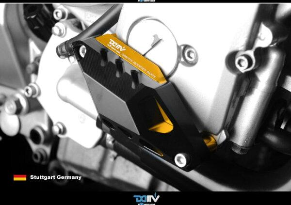T.M.P 德國DIMOTIV YAMAHA FZ6N/S/FAZER 07-14 XJ6N/S/F 09-14 右側 引擎防摔塊 DMV 改裝 黑 金 鈦色