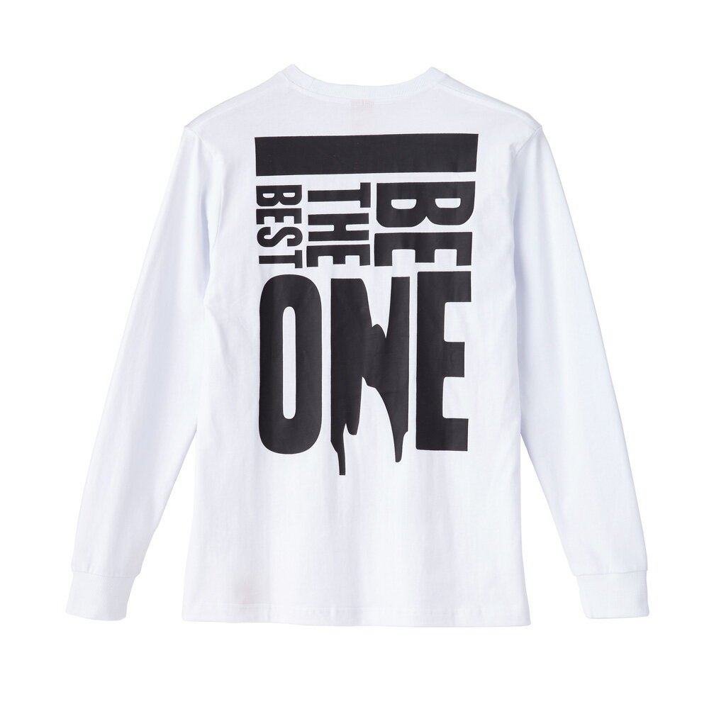 STAGEONE BE THE BEST ONE LS TEE 黑色 白色 兩色 3