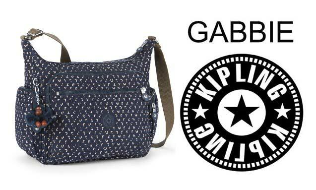 OUTLET代購【KIPLING】多層側背包 旅行袋 斜揹包 潑墨藍 0