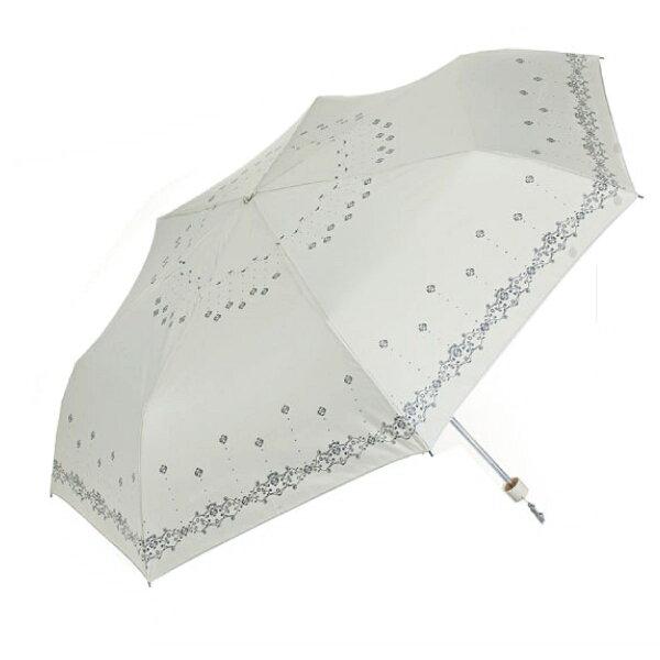 【iumbrella】花樣鋼筆傘-點綴花語奶油白