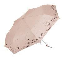 下雨天推薦雨靴/雨傘/雨衣推薦【iumbrella】花樣鋼筆晴雨兩用手開傘-馬戲團粉紅