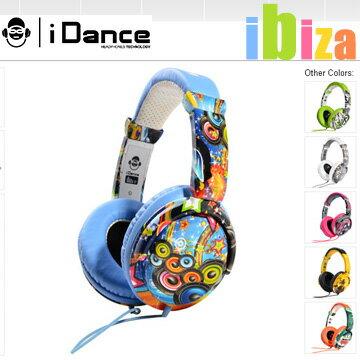 【iDANCE】 IBIZA 電音系列 耳罩式耳機 頭戴式 內嵌麥克風 相容iPHONE 加厚減壓耳墊 六色可選