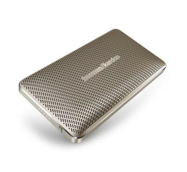《育誠科技》『Harman Kardon Esquire Mini 金色』藍芽音響/藍牙喇叭/內建行動電源