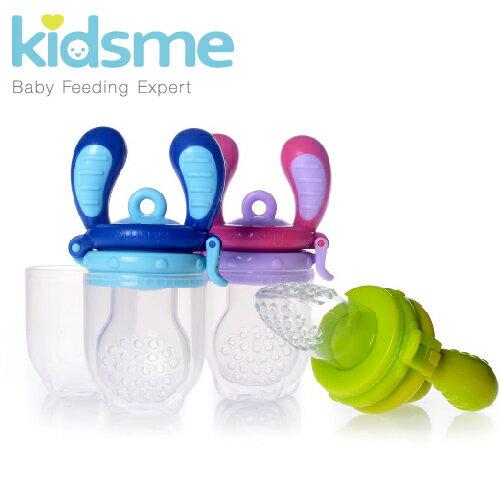 英國【Kidsme】咬咬樂輔食器(M)-3色 0