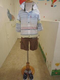 熱汽球潮流童裝~Levi's~(限時優惠)男童短袖襯衫