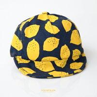 蝙蝠俠與超人周邊商品推薦嬰兒童帽 時尚可愛檸檬遮陽軟簷鴨舌帽 棉質透氣親膚 魔鬼氈可調整 柒彩年代【NHC3】單頂價格