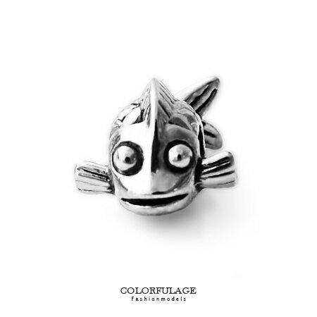 組合字母串珠手鍊 海底世界小丑魚造型穿式鋼墜手環 抗過敏氧化 柒彩年代【NT49】CHARMS - 限時優惠好康折扣